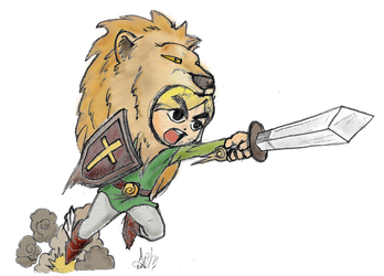 Link Lionhearted by nikgt