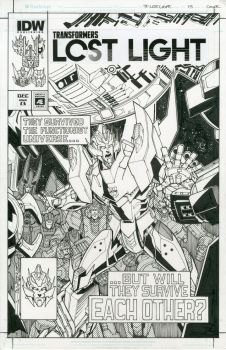 TF Lost Light 13  artist edition cover by markerguru