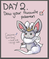 40 Day Pokemon Challenge: 2 by Sophalone