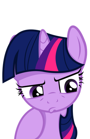 Twilight Sparkle  - Something is wrong by JoeMasterPencil