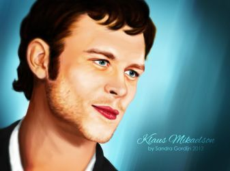 Klaus Mikaelson by sendee