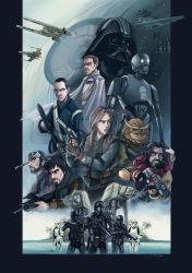 Rogue One by Lillidan86