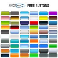 60 Gradient Buttons PSD by frooweb