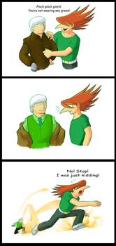 Jet and Al St Paddy's Day by Schreibaby-Zephyr