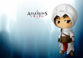 AC - Chibi Altair Wall by Mibu-no-ookami