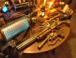 Lightning Projection Gun by VynetteDantes