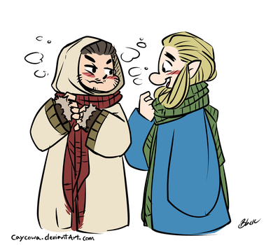 Hobbit - Barduil - Fluffball by caycowa