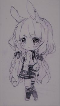 Bunny_chibi by SophieSeraph