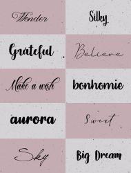  +FONTS PACK #O1   by xPufflex