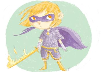 Super heroine Medieval by LaurierTheFox