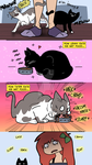 Meowtherhood - Cat Manners by pistachioZombie