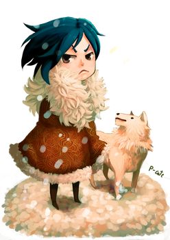 snowman chibi by P-cate