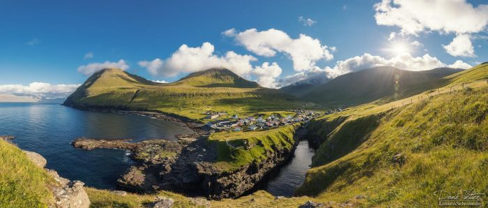 The village at the gorge by LinsenSchuss