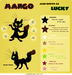 Cheat sheet: Mango. by CathyNoire