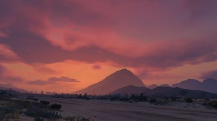 GTA Online - Desert Sunset by MaisyDaydream
