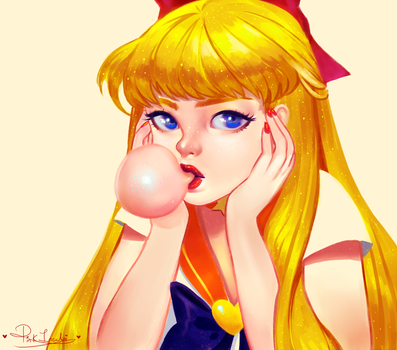 Sailor Venus by pinkincubi