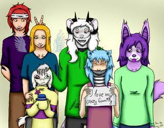 Family picture by JasTheLazyElf
