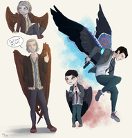 Detroit:BH wings by Umikah