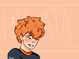 Hinata! Redraw by Strawberrybearz