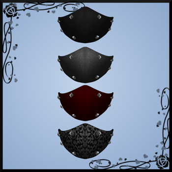 Spiked Face Mask DOWNLOAD by Reseliee