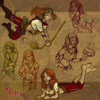 Nellie Character Ref by Trounced
