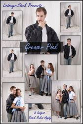 Greaser Pack by lindowyn-stock