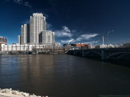 Marriott Courtyard @ Grand River and Fulton by KBeezie