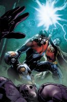 Nightwing Cover 17 by Maiolo