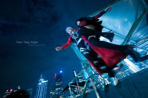 Fate/Stay Night -  Tears sent to the stars by KURA-rin
