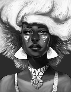 White Fro by remnant-of-the-moon