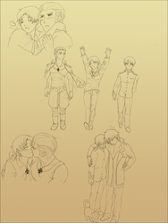 APH: sketchdump II by Artemysia