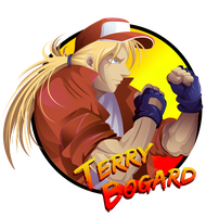 Terry Bogard Front Design by andre-tachibana
