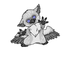 Baby Griffin by DarkOctoberSkye
