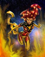 Dark Phoenix by ElecoMoroco