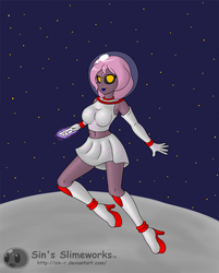 Commission: Space Lisa by Sin-R
