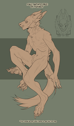 Male anthro base [PSD] by MOHNOT