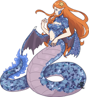 [SOLD] - Annabelle, the Melusine REF by FlareViper