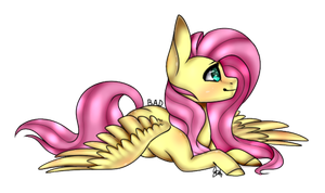 Fluttershy .:Collab:. by OhFlaming-Rainbow