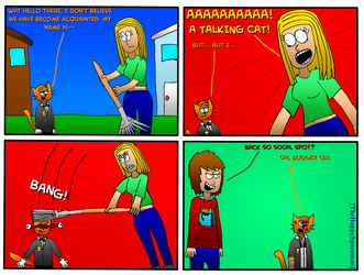 Dan Comics No.58 - New Girl in Town 11 by The-Happy-Spaceman