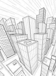 City Perspective Isometric by DCT66