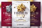 Birthday Party | 3 Psd Flyer Templates by RomeCreation