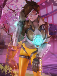 Tracer - Overwatch by JhonyHebert