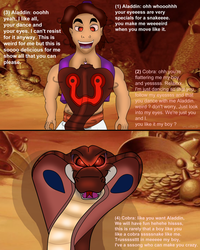 The Cobra's spell ( Aladdin and the snake ) part 1 by valentinfrench