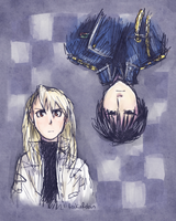 Roy and Riza by rockinrobin