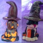 Sorting hat cake topper by Itchywitchygirl
