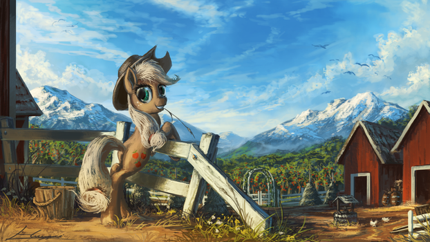 Sweet Apple Acres by Huussii