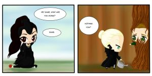 Evil!SwanQueen by Selene-Cruxe
