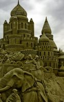 Seige at The Sultans Palace by sculptin