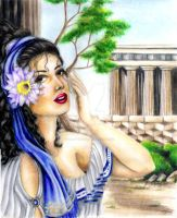 Greecian Beauty by ScarlettRoyale