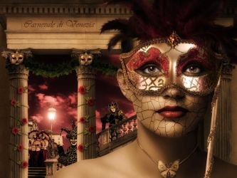 Venice carnaval by Ryuneo